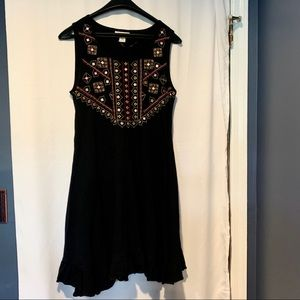 NWOT Embroidered Sun Dress